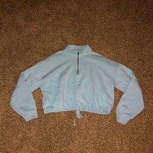 Crop top-pullover